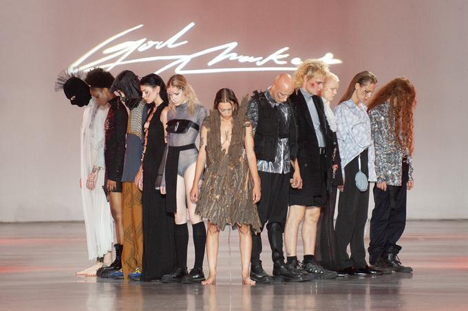 GOD NAKED на Ukrainian Fashion Week noseason sept 2021