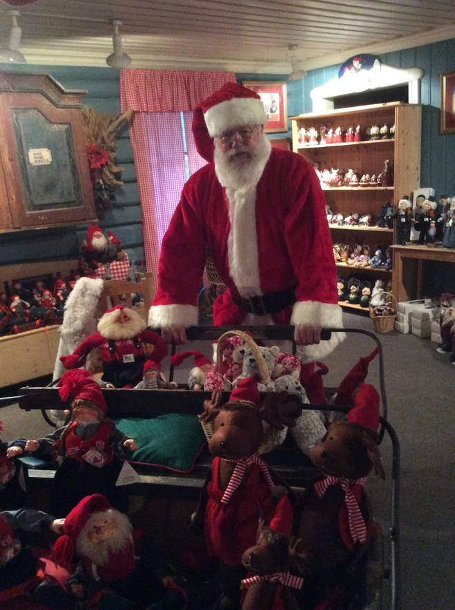 Їдемо в гості до Санта Клауса