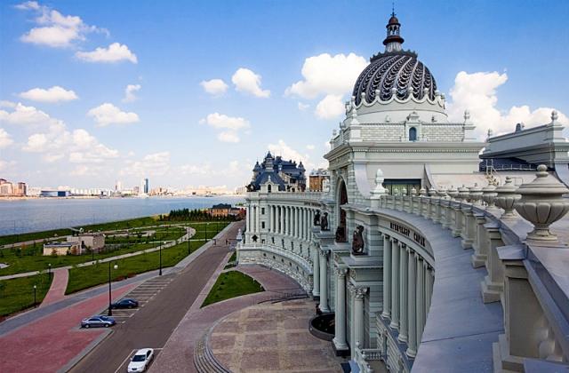 Высотная Казань: Дворец Земледельцев
