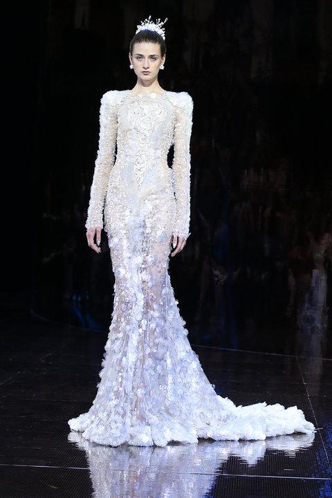 Свадебное платье на осень-зиму 2016/2017 GUO PEI