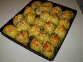 Оригинальный запеченный картофель