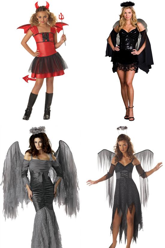 Костюмы на Хэллоуин 2014 своими руками: образ ангела ... - photo#40