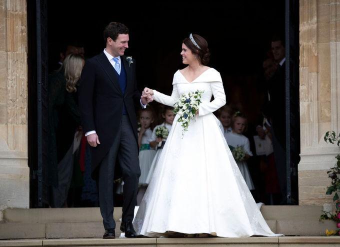 Свадьба принцессы Евгении Йоркской и Джека Бруксбэнка,