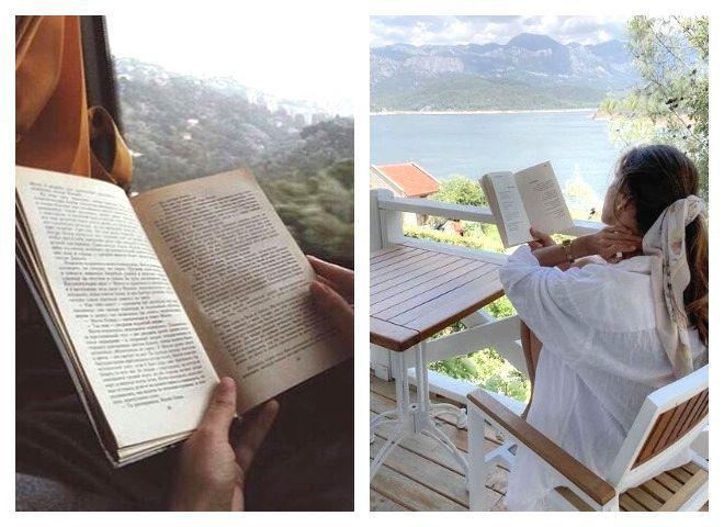 Книги в подорож