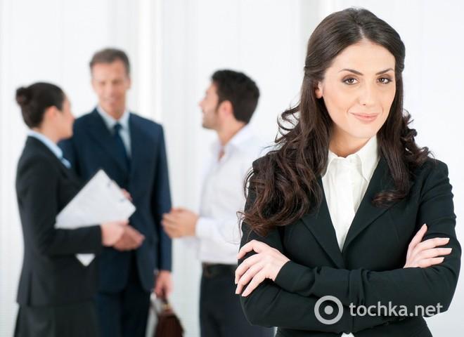 Привітання з Днем боса, бізнес-леді
