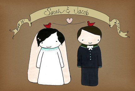 Оригинальный способ пригласить на свадьбу=)
