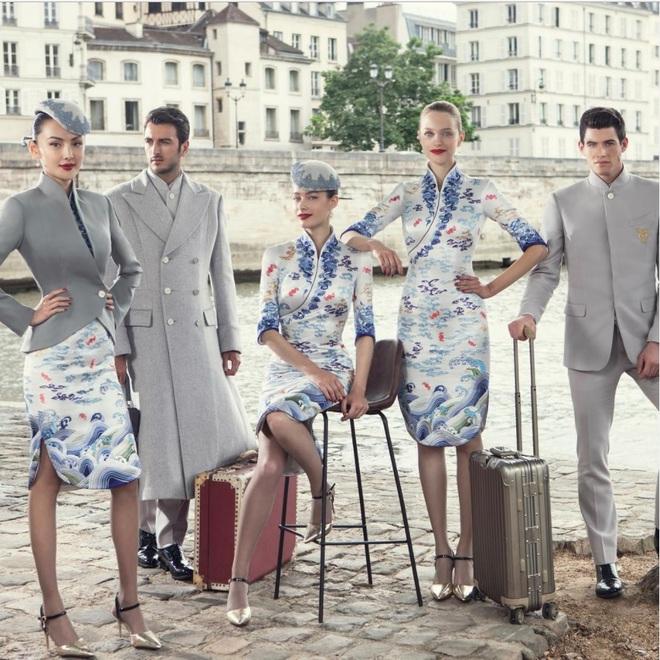Кутюрная одежда для китайских авиалиний