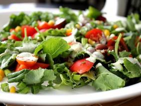 Овощной салат с заправкой «винегрет» от Дарьи Мельник