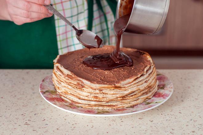 Торт из блинов: пошаговый рецепт с фото
