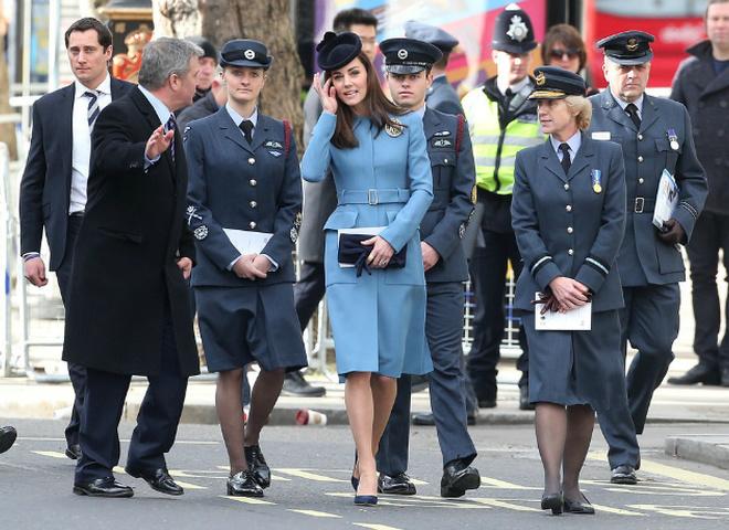 Кейт Миддлтон на 75-летии RAF Air Cadets