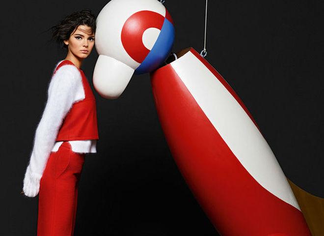 Кендалл Дженнер испортила промо-кампанию Fendi, считают поклонники бренда