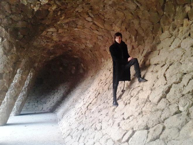 Лина Верес о первом отпуске в Барселоне