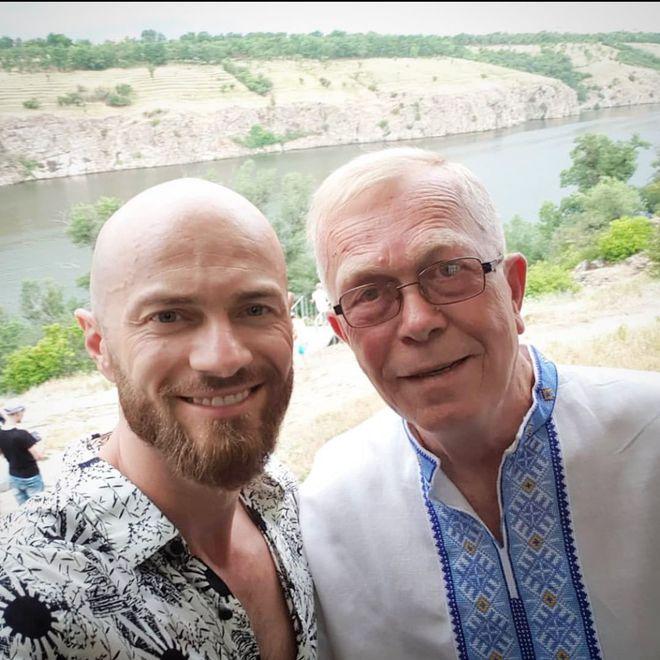 Влад Яма з батьком