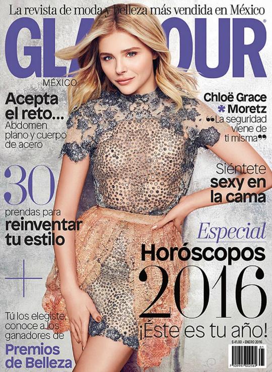 Хлоя Грейс Морец для Glamour Mexico