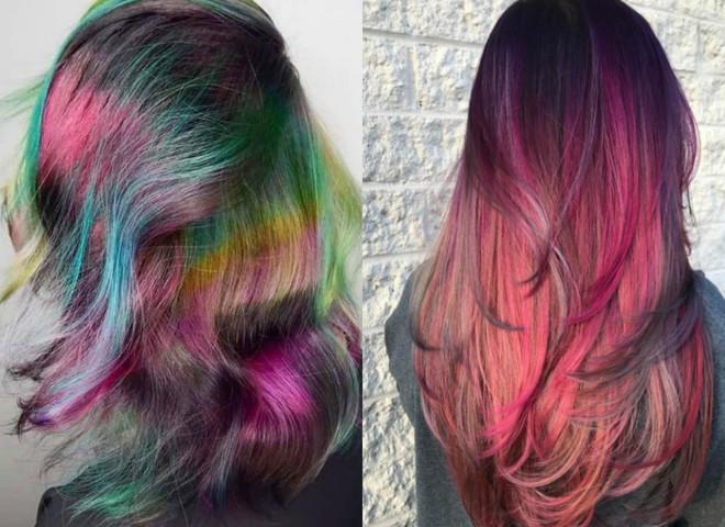 фарба змінює колір