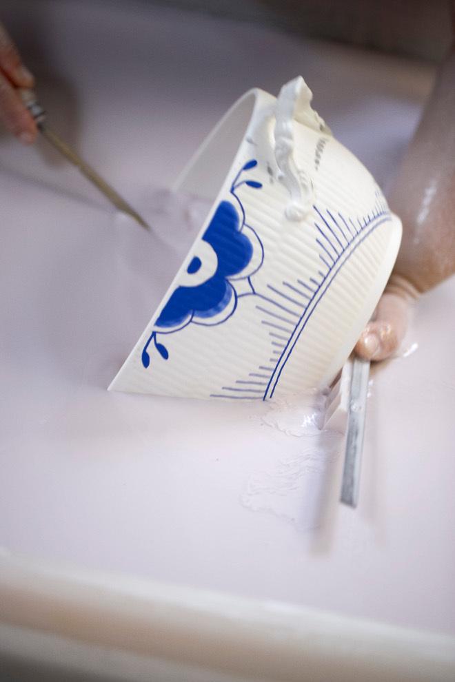 как делают фарфор