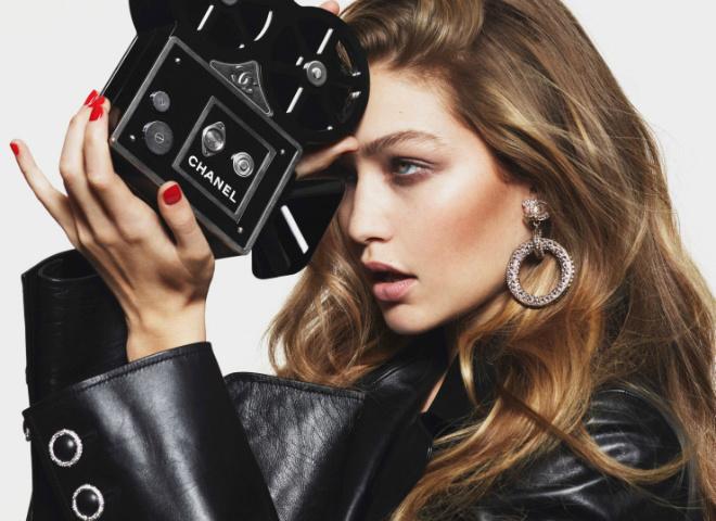 Джіджі Хадід для Vogue Paris