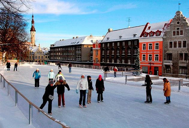 Встречаем Рождество и Новый год 2011 в Таллинне