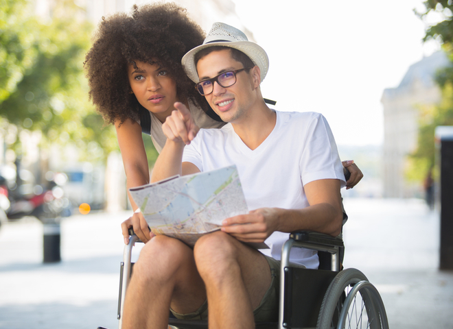Путешествие в инвалидном кресле