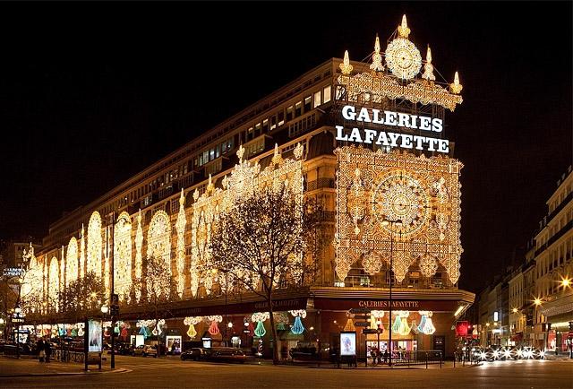 Шопинг в Париже: Галерея Лафайет
