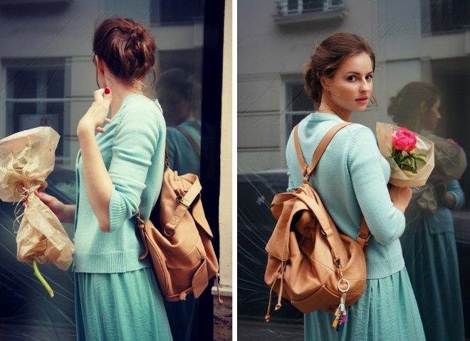 Багаж за плечами: 5 весенних образов с рюкзаком