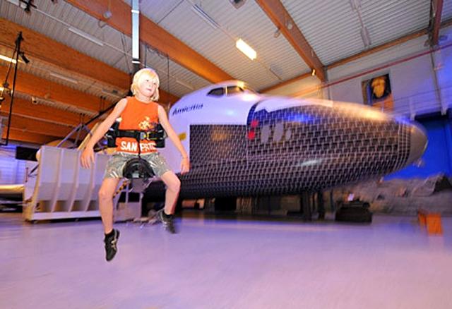 Кращі дитячі табори: євро космічний центр