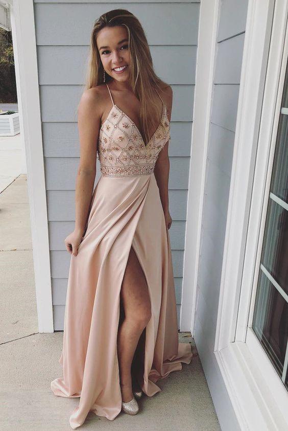 Длинные платья на выпускной