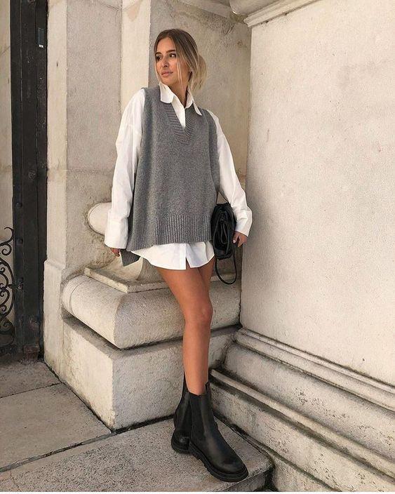 Як стильно носити білу сорочку