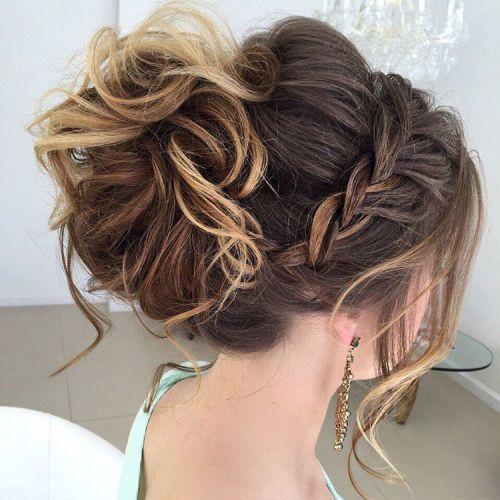 Вечерние прически для длинных волос 2016