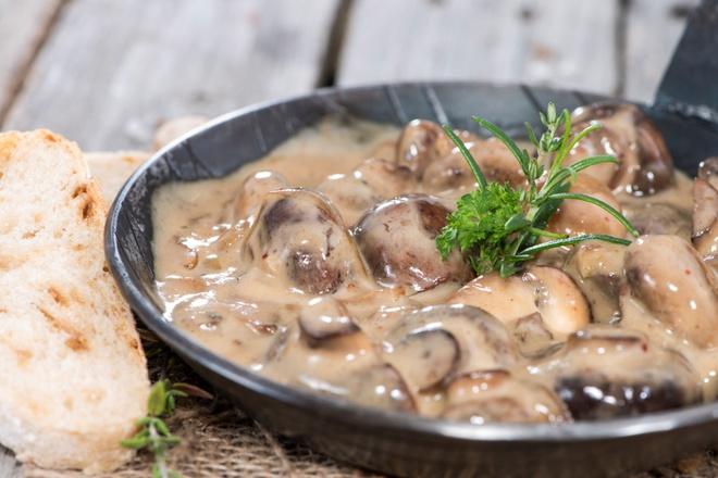 Як приготувати жульен з грибами