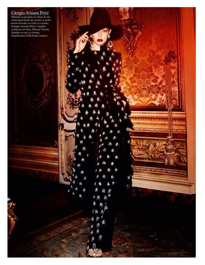 Glam girl: Джіджі Хадід знову на обкладинці Vogue Paris