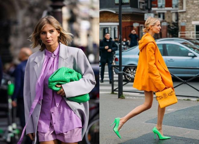 Модні акцентні відтінки в гардеробі на осінь 2020