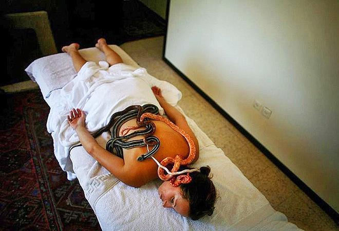 Зміїний масаж