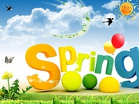 Позитивна листівка з весною