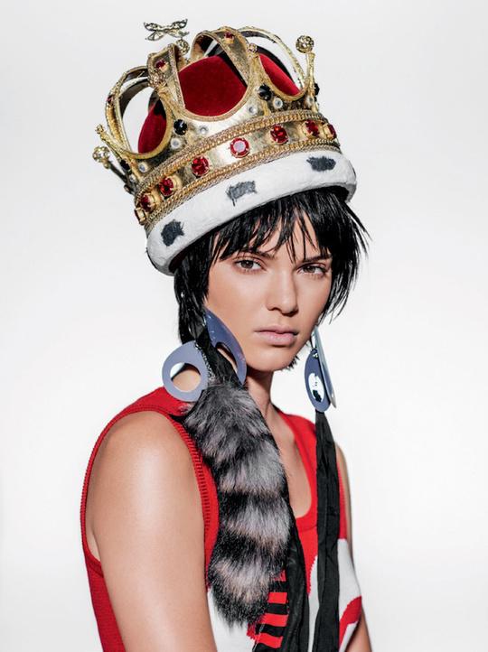 Кендалл Дженнер для Vogue Brazil
