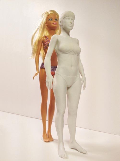 Барби с фигурой обычной девушки