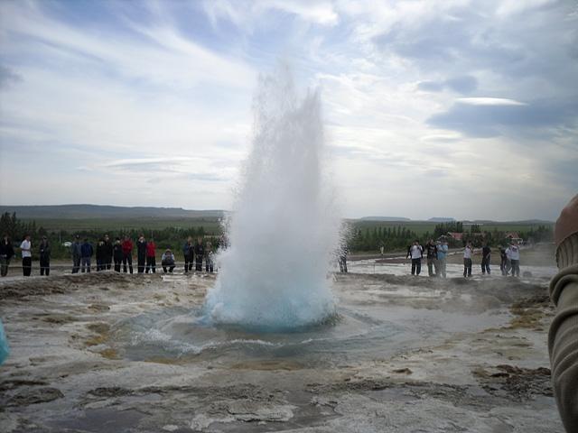 Гейзеры Исландии: Великий Гейсир