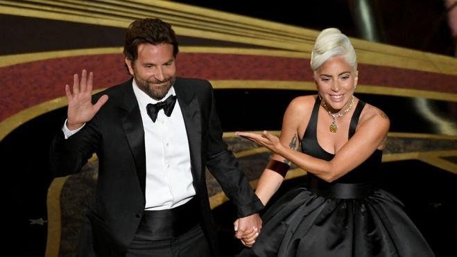Леди Гага и Брэдли Купер на Оскаре-2019