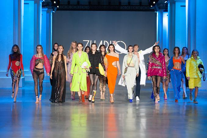 ZHARKO на Ukrainian Fashion Week noseason sept 2021