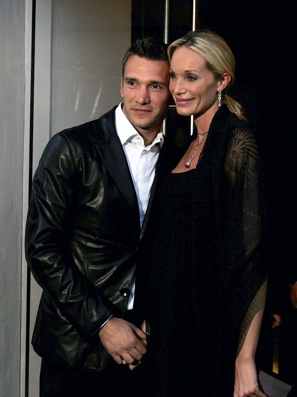 Жена шевченко андрей фото