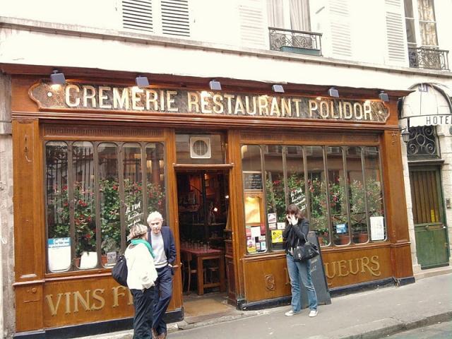 Полночь в Париже: Ресторан Le Polidor