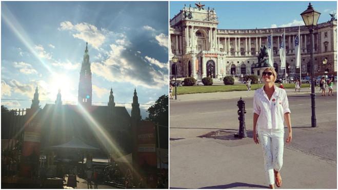 Катя Осадчая и Юрий Горбунов в Вене
