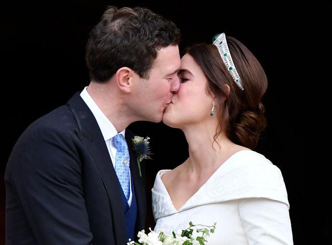 принцеса Євгенія вийшла заміж