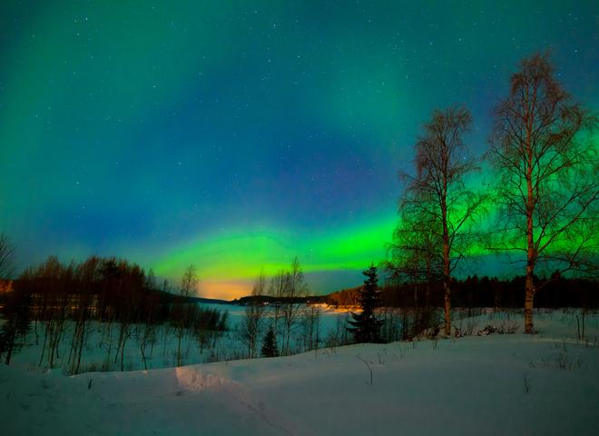 Зимняя Финляндия: удивительные фото природы в ее первозданном виде