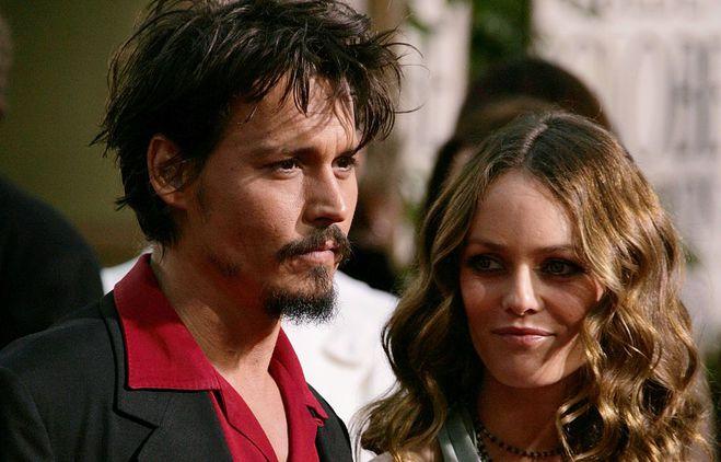 Джонні Депп і Ванесса Параді, 2006 р