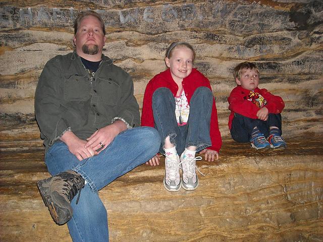 Осенние каникулы: совмещаем приятное с полезным: Пещера Марка Твена (США, Миссури, Ганнибал)