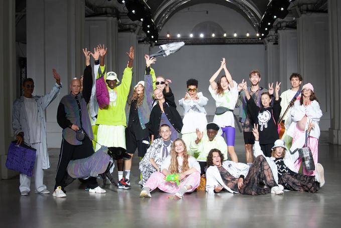 Показ ROUSSIN на Ukrainian Fashion Week noseason sept 2021