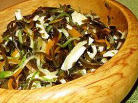 салат Витамины с морской капустой