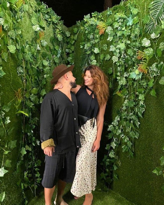 MONATIK с женой Ириной