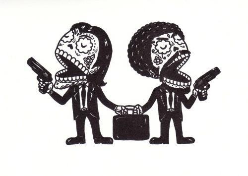 Сахарные карикатуры